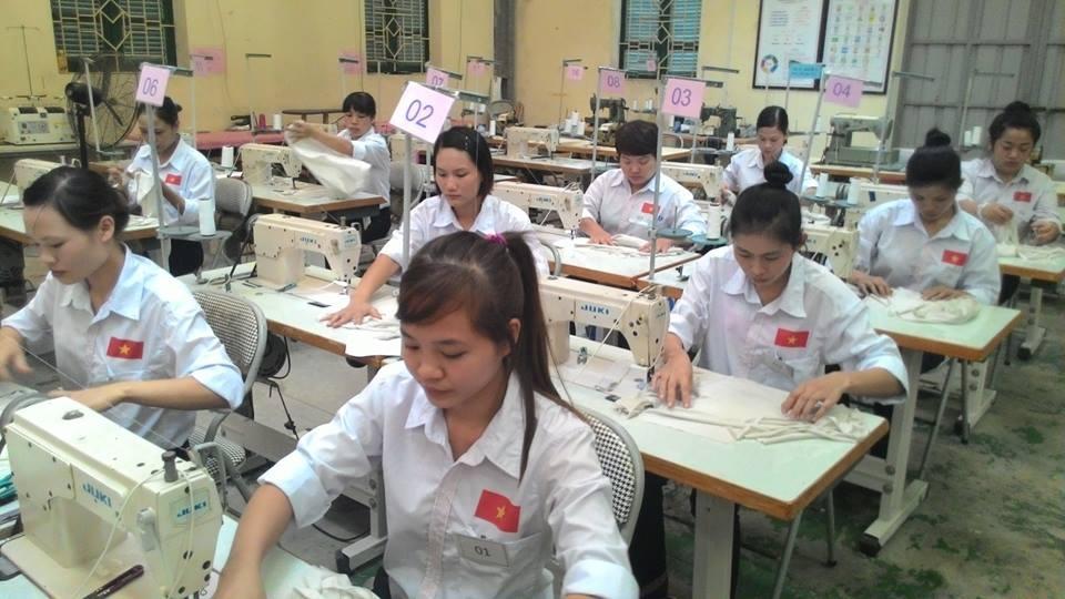 Tuyển lao động may làm việc tại Nhật Bản