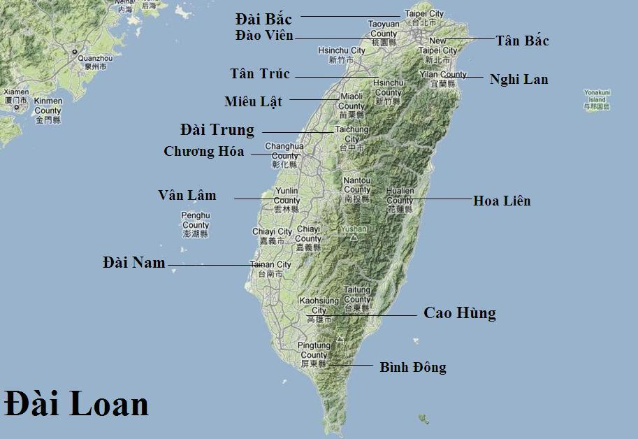 Giới thiệu về đất nước con người Đài Loan